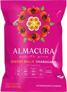 Energy Ball Almacura Chabacano 60g