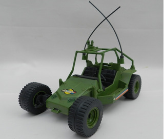 Retro Arenero Buggy Vehiculo Gi Joe Hasbro 1985 Restau Aps