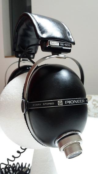 Pioneer Se 505 Dynamic Stereo Headphones Antigo