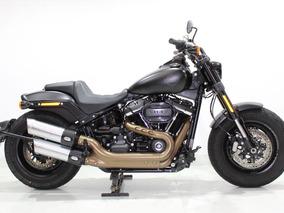 Harley Davidson - Dyna Fat Bob - 2019 Preta
