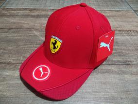 Boné Ferrari / Puma / Aba Curva / Top