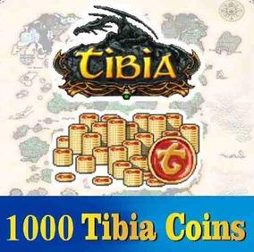 1000 Tibia Coins (transferiveis) Sem Burocracia