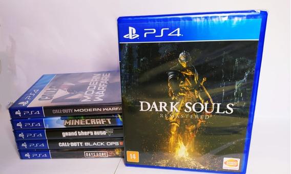 Jogo Rpg Dark Souls Remastered Lacrado Para Ps4-frete Grátis