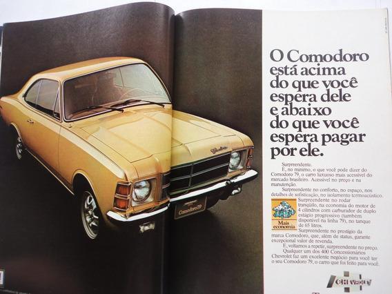 Antiga Revista Auto Esporte 1979 Opala/motos/polara/rodas