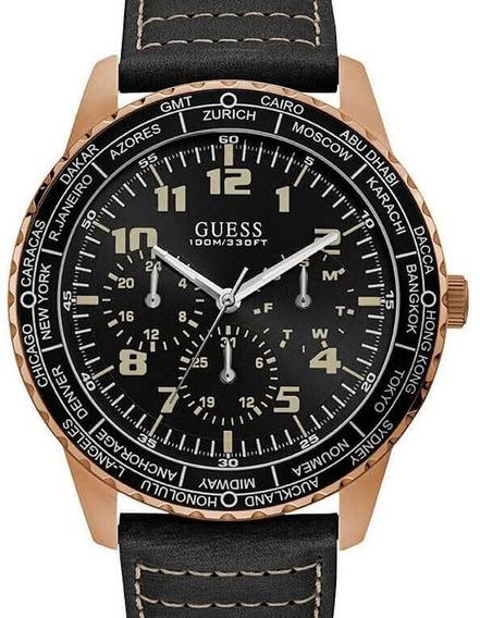 Relógio Guess Masculino Couro Sport - 92729gpgsrc2