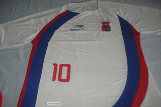 Camisa Parana Clube Penalty 2007 Branca Est Trocas