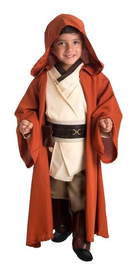 Disfraz Obi One Star Wars Original De Lujo Niño Fantasy Ruz