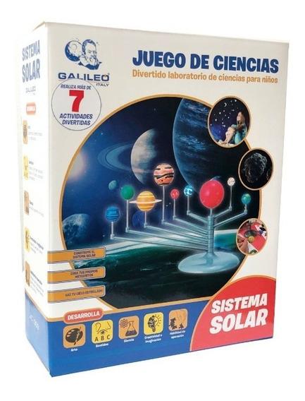 Juego De Ciencia Sistema Solar Arma El Universo Galileo