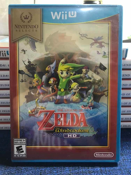 The Legend Of Zelda The Wind Waker Hd Wii U Nintendo Lacrado