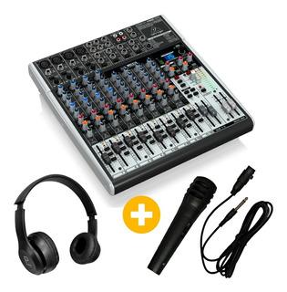 Consola Behringer Xenyx X1622usb + Mic + Auricular De Regalo