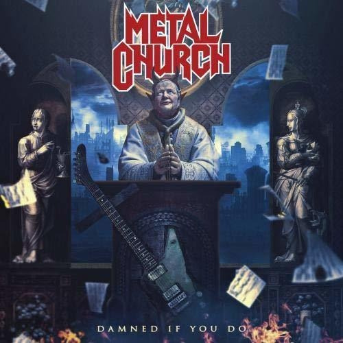 Cd : Metal Church - Damned If You Do (8851)