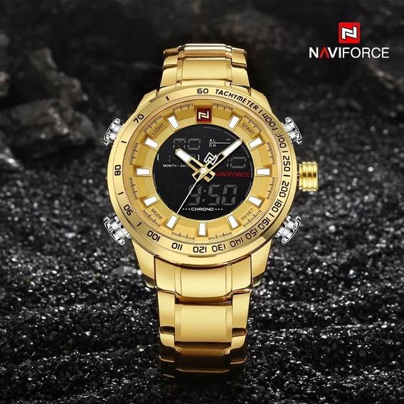 Relógio Naviforce Importado Luxo