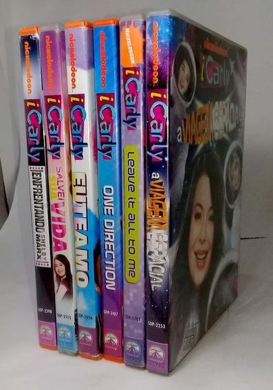 Dvd - Coleção Icarly - 6 Filmes - Original - Promoção