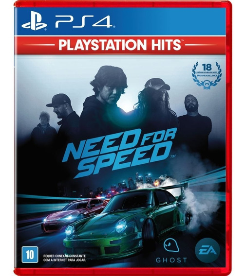 Need For Speed - Midia Fisica Original E Lacrado - Ps4