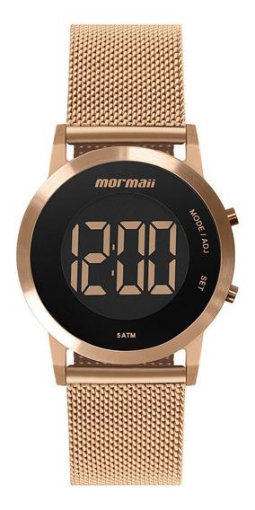 Relógio Mormaii Feminino Rose Digital Original Mobjt016ab4j