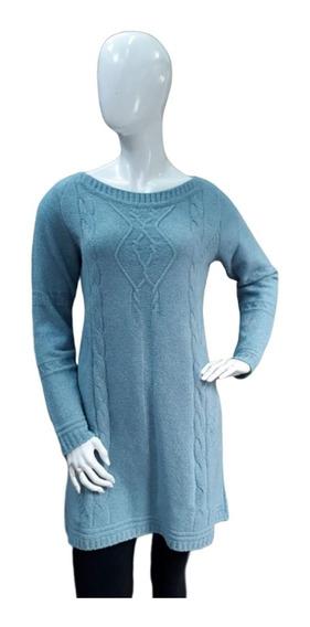 Vestido De Tricot Mousse Inverno Mini Vest Trico Barato