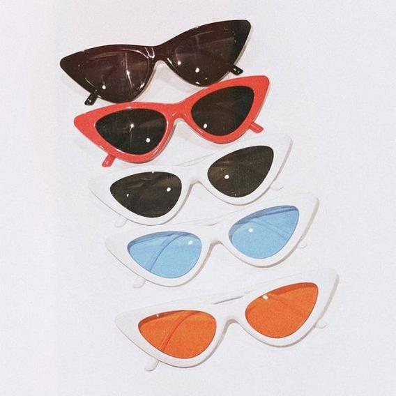Promoção Óculos De Sol Gatinho Cat Eye Lolita Retrô Pinup