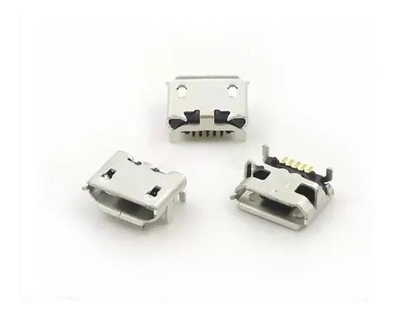 Conector Carga Controle Ps4 Wireless Micro Usb De Energia