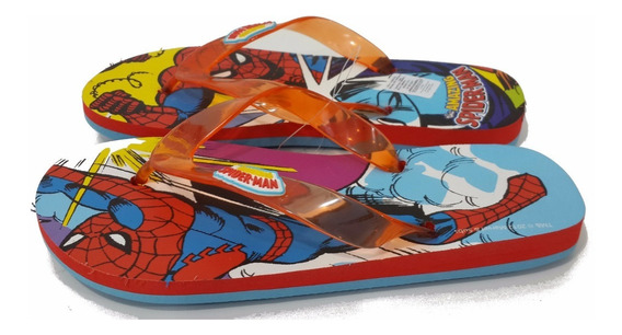 Ojotas Spiderman Originales Atomik