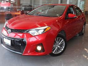 Toyota Corolla S Manual 2014 Rojo