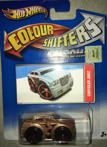 Hot Wheels Shifters Auto Cambia De Color V0576