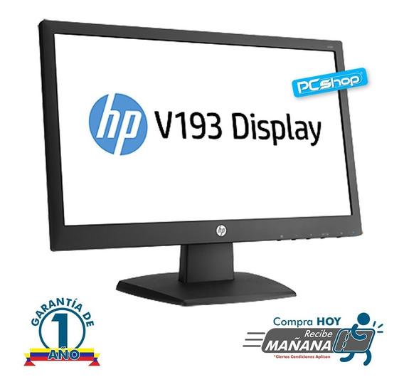Monitor Hp 18.5 Led V193 Garantia (somos Tienda Fisica)