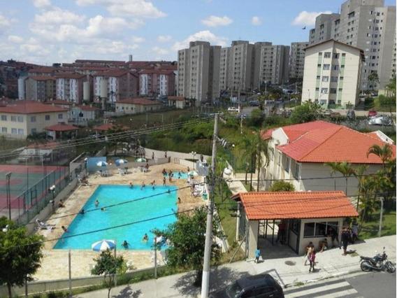 Apartamento Com 2 Dormitórios À Venda, 46 M² Por R$ 160.000 - Jardim Triângulo - Ferraz De Vasconcelos/sp - Ap19534