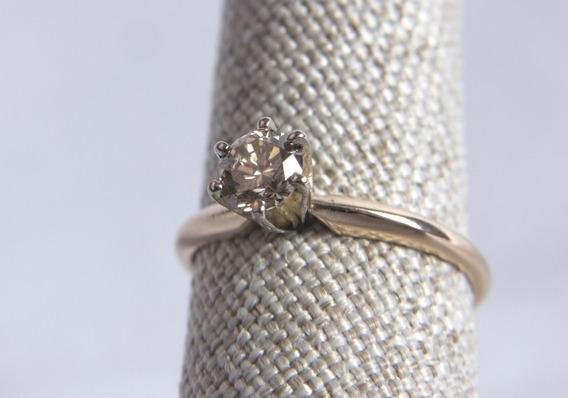 Anillo Compromiso Diamante .56