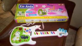 Guitarra De Juguete Para Niña