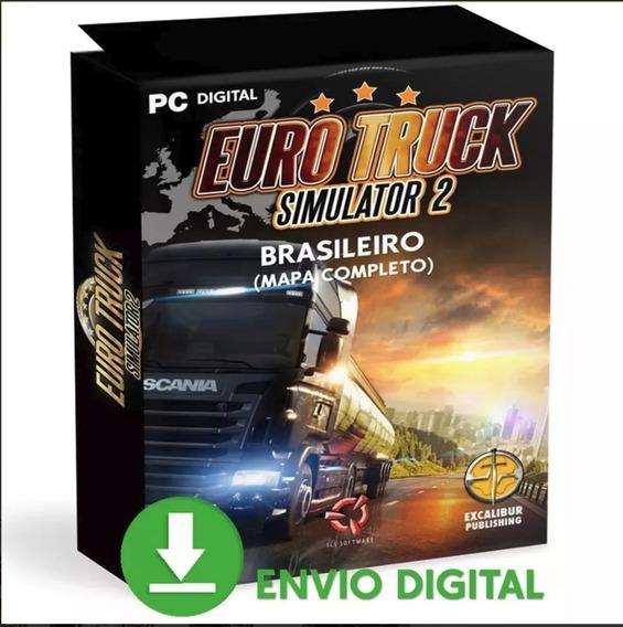 Euro Truck 2 Pc Simulador Caminhão Mídia Digital