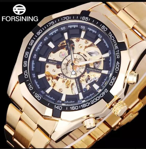 Relógio Forsining Masculino Automático Original Promoção