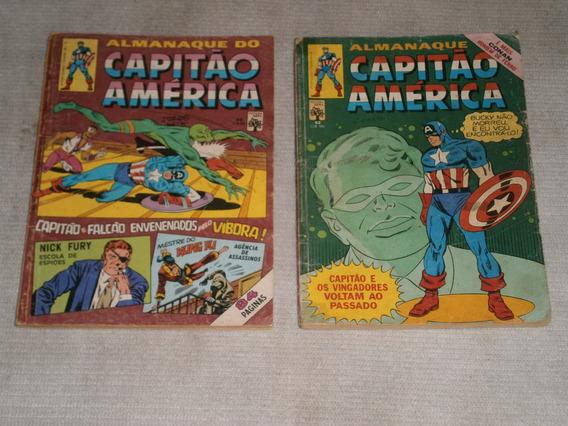 Capitao America Anos 80 Formatinhos Raros E Antigos