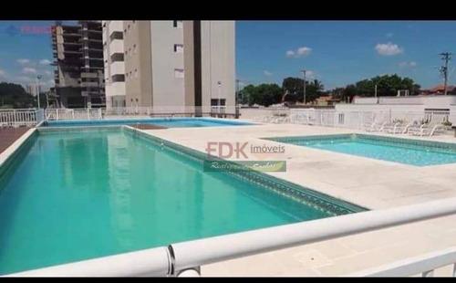 Imagem 1 de 12 de Cobertura Com 3 Dormitórios À Venda, 155 M² Por R$ 636.000,00 - Barranco - Taubaté/sp - Co0045