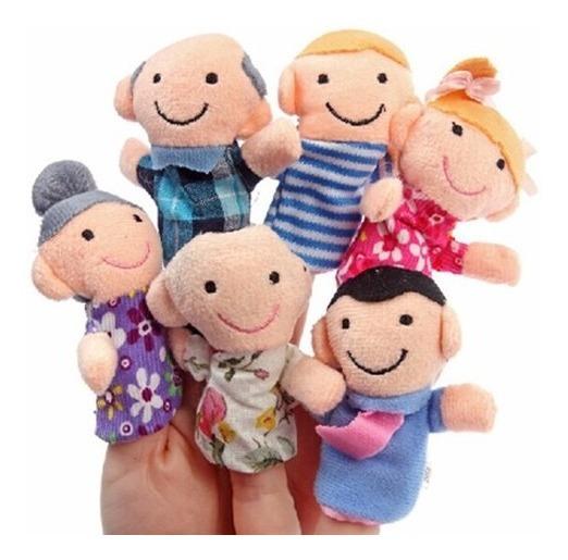 Fantoches De Dedos Família Feliz Dedoches