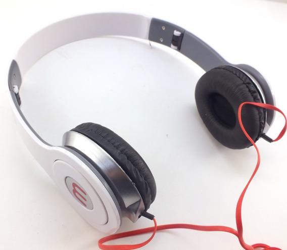 Fone De Ouvido Headphone Ltomex Branco Com Fio A10295