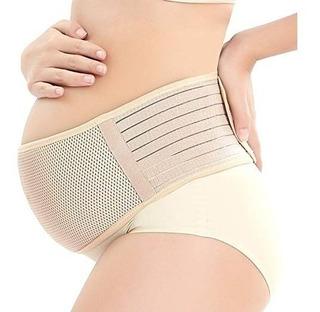 Soporte De Maternidad Cinturón Respirable Embarazo Banda