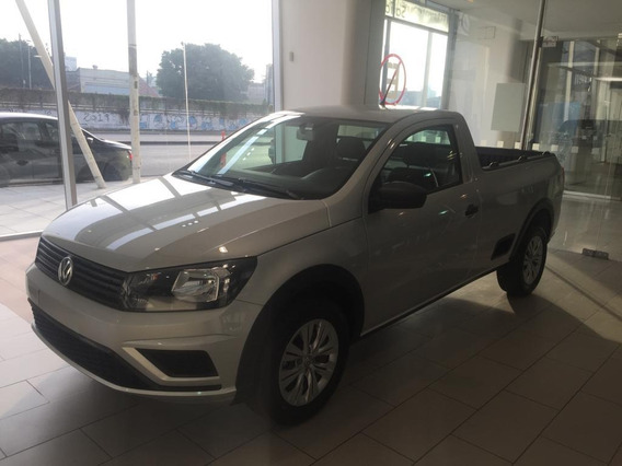 Volkswagen Saveiro 1.6 Gp Cs 101cv Safety 2018 Blanca