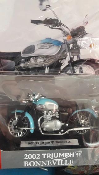 Colecc. Motos De Leyenda Triumph Bonneville. Esc. 1/18