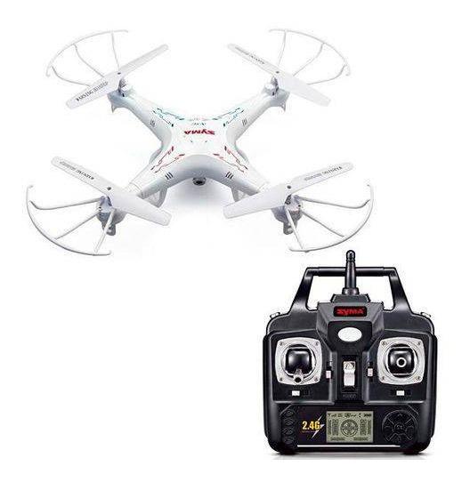 Drone Syma 5xc Hd - 5 Baterias + Carregador Múltiplo