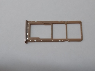 Gaveta Slot Chip Samsung A750 A7 2018 Marrom