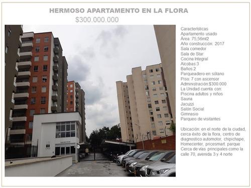 Hermoso Apartamento En La Flora