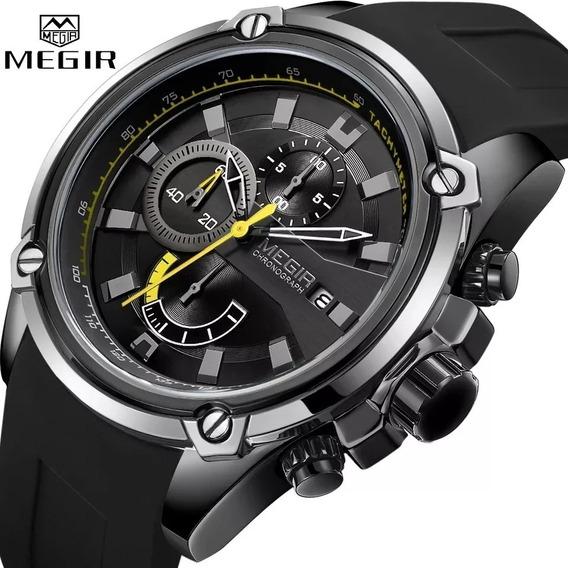 Relógio Megir 2086 Original A Prova D