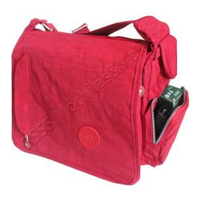 3a38f7372 Bolsa Carteiro Escolar - Calçados, Roupas e Bolsas Vermelho no ...