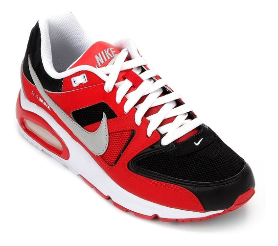 Zapatillas Nike Air Max Command Rojas Negro 629993-039