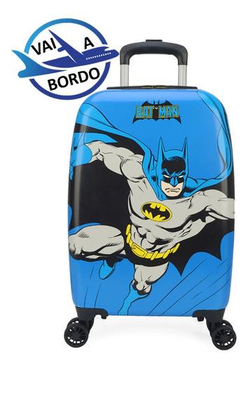 Mala Escolar / Viagem Infantil Batman - Tam P De Bordo