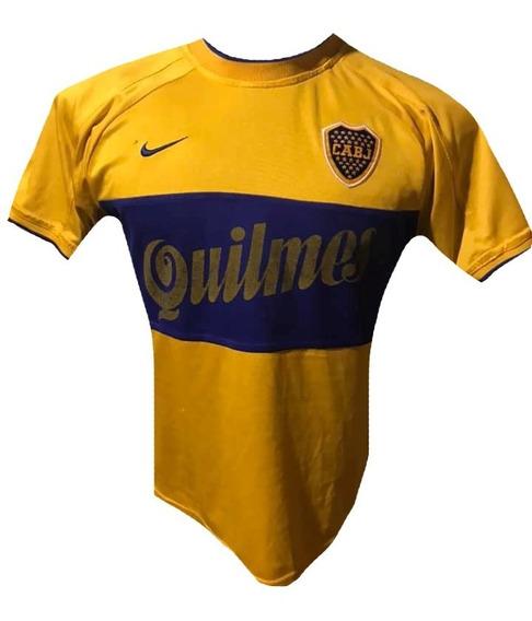 Camiseta De Boca Juniors 2000 Talle S #10 Riquelme Reliquia