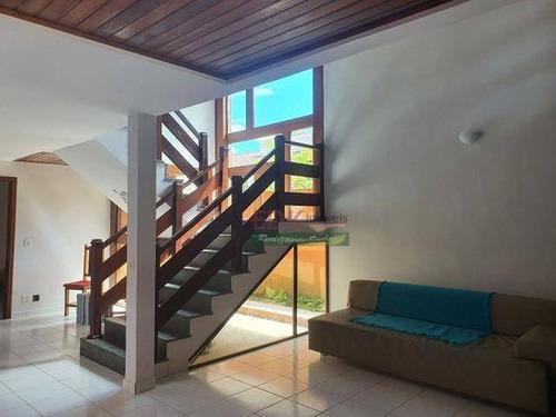 Imagem 1 de 6 de Sobrado Com 4 Dormitórios À Venda, 220 M² Por R$ 750.000,00 - Martim De Sá - Caraguatatuba/sp - So1827