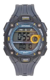 Reloj Digital Stone Táctico Sumergible 100 Mts Gtia Oficial!