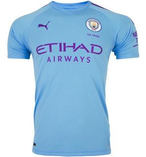 Camisa Manchester City L 19/20 A Pronta Entrega