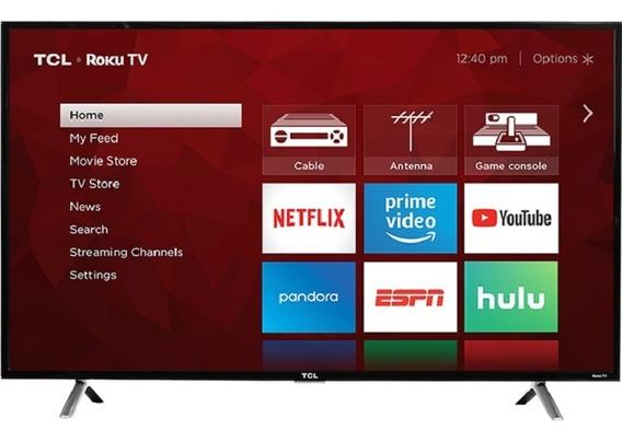 Televisor Tcl Roku Smarttv De 49 4k Uhd Hdr 49s405